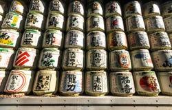 Стог ради на святыне Meiji в токио, Японии Стоковые Фото