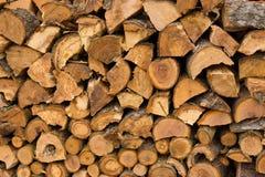 Стог древесины Стоковое фото RF