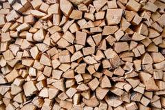 Стог древесины стоковое изображение