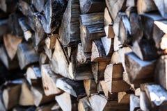 Стог древесины Стоковая Фотография