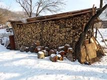 Стог древесины Стоковая Фотография RF