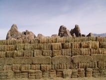 стог сена стоковые фото