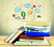 стог сетки иллюстрации градиентов книги цифровой Стоковые Фото