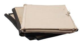 стог скоросшивателей старый стоковая фотография