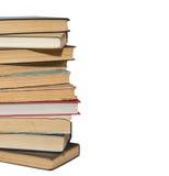 Стог старых книг стоковые изображения rf
