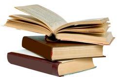 Стог старых книг Стоковая Фотография