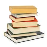 Стог старых книг Стоковая Фотография RF