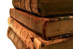 Стог старых книг. стоковое фото rf