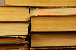 Стог старых книг Стоковые Фотографии RF