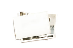 Стог старых фото стоковое изображение rf