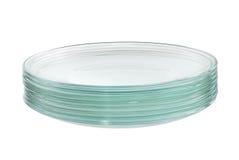 стог стеклянных блюд Стоковые Изображения RF