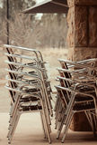 Стог стулов Стоковое Изображение RF