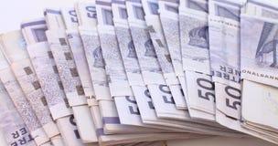 Стог счетов денег стоковая фотография