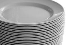стог тарелок Стоковые Фотографии RF