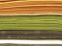 стог тканей Стоковые Изображения RF