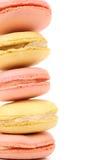 Стог тортов macaron. Стоковые Фото