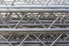 Стог ферменных конструкций металла Стоковые Фотографии RF
