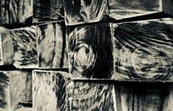 Стог фото предпосылки деревянных квадратных объектов уникального стоковая фотография rf