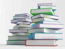 Стог цветастых книг Стоковая Фотография RF