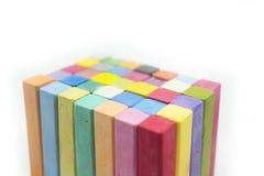 Стог цветов разнообразия пастели мела Стоковое Фото