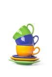 Стог 3 чашек Стоковая Фотография RF