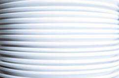 Стог чистых белых плит Стоковое фото RF