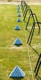 Стог шаров для игры в гольф стоковая фотография rf
