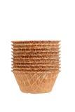 Стог шаров waffle Стоковая Фотография RF