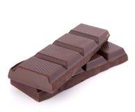 стог шоколада штанг Стоковое Изображение