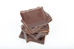 Стог шоколада Стоковая Фотография