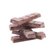 Стог штанг шоколада Стоковое Изображение RF