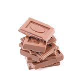 Стог штанг шоколада Стоковая Фотография RF
