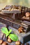Стог штанг шоколада Стоковая Фотография