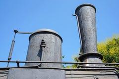 Стог дыма старого локомотива Стоковое Изображение RF