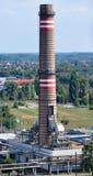 Стог дыма электростанции Стоковая Фотография