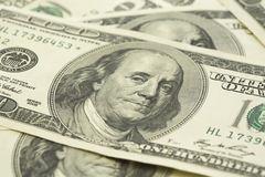 стог доллара счета Стоковое Фото