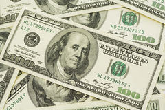 стог доллара счета Стоковое Изображение RF