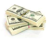 Стог $100 счетов Стоковые Фотографии RF