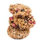 Стог candied зажаренных в духовке семян подсолнуха арахисов Стоковое Изображение RF