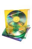 стог cds Стоковое фото RF