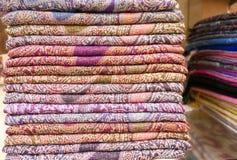 Стог headscarfes Стоковое фото RF
