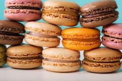 Стог Macarons Стоковая Фотография
