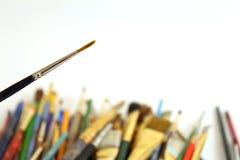 Стог Paintbrushes Стоковое Фото