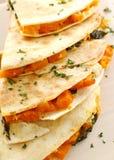 стог quesadilla тыквы Стоковые Изображения RF