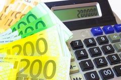 Стоимость денег Стоковое Изображение RF