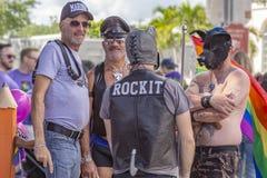 Стоимость озера, Флорида, США 31-ое марта 2019 раньше, гей-парад Palm Beach стоковое фото