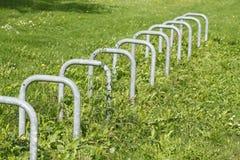 Стойка велосипеда Стоковая Фотография