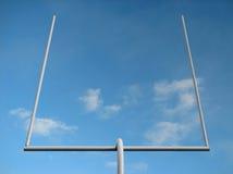 стойка ворот американского футбола Стоковая Фотография RF