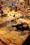 Стойка в рынке Nishiki - Киото Стоковое Изображение