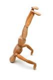 стойка головки figurine Стоковые Фотографии RF